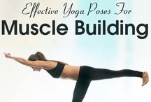 Muscle building yoga poses