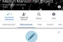 Marilyn Manson Fans Project