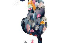 Cats -art