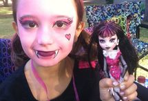 Face paint / Draculaura