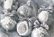 Елочные шары. Новогодний декор