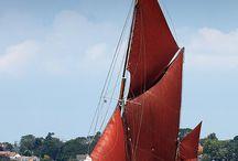 Marine: Thames barge
