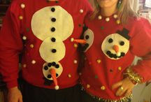 his and hers ugly christmas sweater