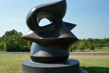 Sculptures in Houston Metro