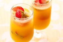 Champagne breakfast ideas  / Christmas breakfast ideas - champagne breakfast