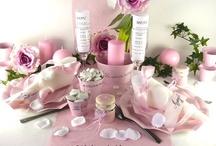 Mariage rose bonheur / Onctueuse comme un bonbon, savourez notre décoration de table rose tendre...