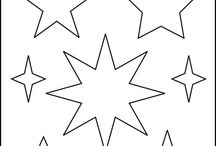 Sternenvorlage