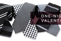 """What To Wear: Valentine's Day """"One-Night Valentine"""" / For the single guy who wants to appear unattached and unaware that it's Valentine's Day."""