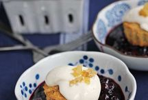 100 Ways to Cook with Blueberries / Blueberries! Cooking with blueberries! / by From Away