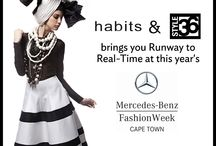 HABITS: Runway to Real-Time / HABITS and STYLE36 collaborated on the first ever Runway to Real-time online shopping experience at this year's Mercedes Benz Fashion Week in Cape Town!  Welcome to the future of fashion!