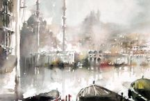 WATERCOLOURS by SQUARE SPACE