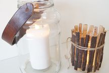 DIY candleholder / Visit my blog, and you will find the discription!  http://kreativelisabeth.blogg.no/1390823043_diy__lyslykt.html