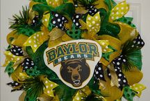 Baylor Decorations / Every home needs a Baylor touch! / by B C