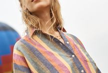 it's here (!) / the spring 2018 collection / Close your eyes and imagine that ideal warm-weather wardrobe. Classic stripes redone in new ways. Denim with serious vintage vibes. A color palette as pretty as the sunset. Now open them…and make room in your closet.
