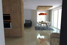 Kuchyne s obývačkou/ Kitchen with Living Room