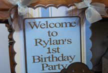 Boy birthday parties / by Rachel Goforth