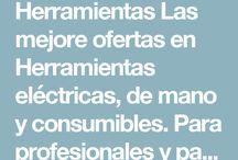Herramientas / Herramientas Las mejore ofertas en Herramientas eléctricas, de mano y consumibles. Para profesionales y particulares