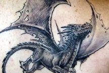 Sárkányos Tetoválások
