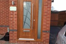 Oak Rockdoors / A selection of Light Oak and Irish Oak Front Doors, Back Doors and Barn Doors.
