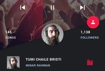 Design : Music UI / UX