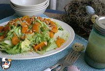 Veggies, salads