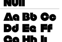 Fonts / by Sydney Sopher