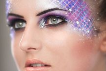 Airbrush inspiration make-up