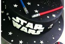 Cake star wars