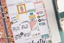 Planner inspiration / Inspiration for your planning, journaling, bullet journaling and travelers notebook.
