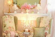 shabby chic with color french country