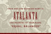 The Amazons / Discover your Amazon alter ego with this Playbuzz quiz: http://www.playbuzz.com/jessicap18/what-is-your-amazon-warrior-name  This information is taken from The Amazons: Lives and Legends of Warrior Women across the Ancient World. http://press.princeton.edu/titles/10302.html   / by Princeton Press