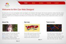 Web Design / Kim Cox Designs