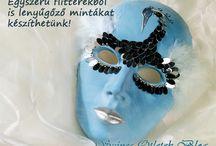 velencei maszkok és farsang
