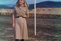 Nurses in Second Great War /    Military Nurses during World War II.