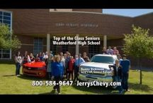 Commercials / Monthly commercials and promotions aired for dealerships at Jerry Durant Auto Group.