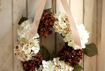 Wreaths and garlands 2 / - in all shapes - for all occations and door decorations