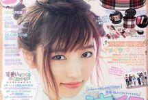 Magazine models japanese kawaii / マガジン ファッション カワイイ (=ω=.)