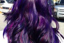 Purple hair | Ideas