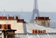 Paris, ses toits et monuments