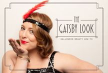Get the Gatsby Look this Halloween!  / Get the Gatsby Look this #Halloween with #CoverGirl and Vidal Sassoon #gatsby #beauty #tutorial #makeup #fashion #hairstyles