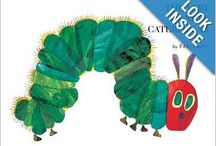 book nook: The Very Hungry Caterpillar / for Little Wonders Preschool a lit and play based program  math: sequencing science: life cycles