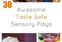 Sensory play ideas