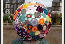 Fiebre crochetera / Yarn bombing