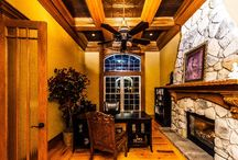 Warm Fireplaces / Picture yourself cozying up to these gorgeous fireplaces.