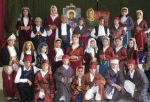 Greek Costumes: Asia Minor/Mikra Asia / A collection of Greek folk costumes from Asia Minor (Mikra Asia), including Pontos, Kappadocia, Constantinople, Smyrna / by Yasemin Dinibütün