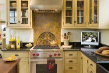 Kitchen - Victorian cabinets