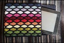 Crochet funda tablet