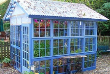 Haveskure, drivhuse og verandaer