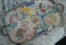 Broken China Crafts / crafts / by Ina Bentley