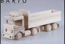 Pojazdy drewniane